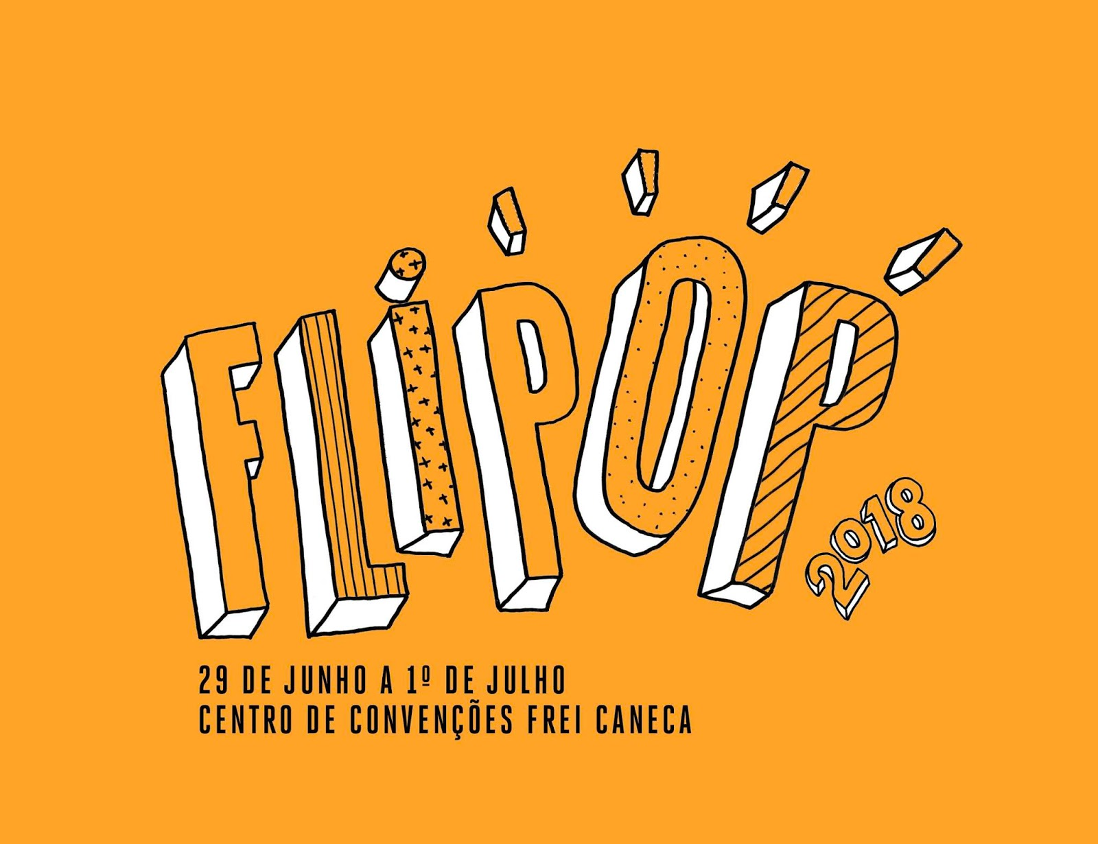 Vá à FLIPOP e ganhe um ingresso para a Bienal do Livro de São Paulo