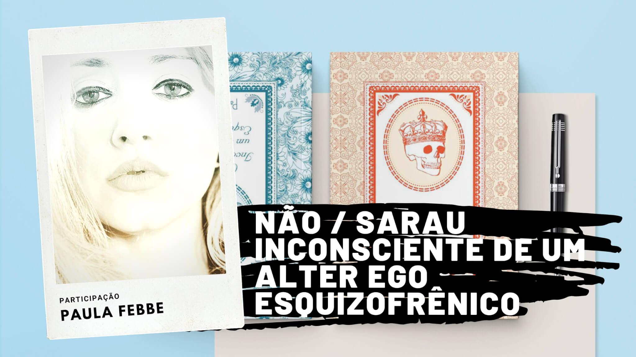 LIVE: Paula Febbe lança seu novo livro com a Cartola Editora