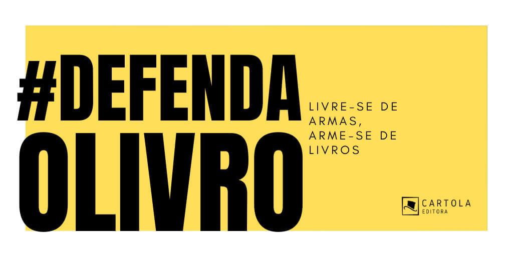 Livre-se de armas, arme-se de livros! #defendaolivro