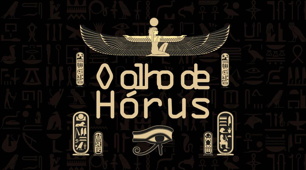 """Lançamento: """"O olho de Hórus"""""""