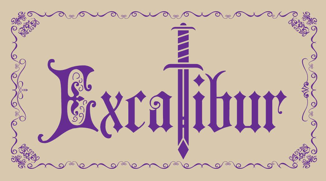 """Lançamento: """"Excalibur"""""""