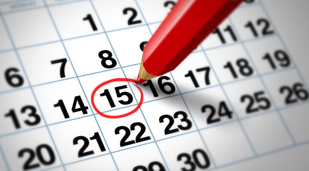 Calendário de concursos literários para 2021
